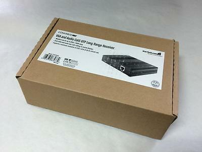 New Open Box Startech Stutpealr Vga Video Extender Over Cat5 With Audio