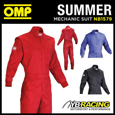 Nb/1579 Omp Summer Lightweight & Durable Mechanic Overalls Suit - 3 Colours