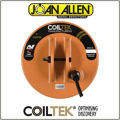 "New Coiltek 3kHz 6"" X-Terra Digger Coil Complete With Coil Cover"