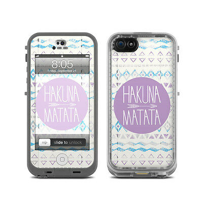 Skin for LifeProof Nuud iPhone 5 - Hakuna Matata - Sticker Decal