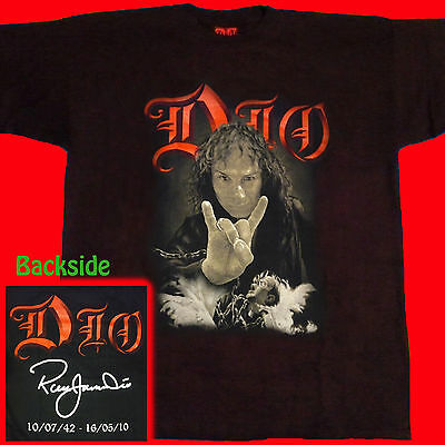 T-SHIRT RONNIE JAMES DIO Holy Diver Tribute HEAVY METAL CD SIZE S