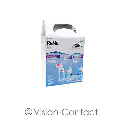 ReNu MPS 6 Monatspack 6 x 240ml Pflegemittel All in One Kombilösung