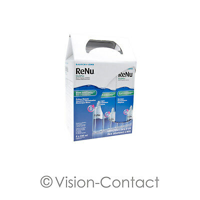 ReNu MultiPlus 6 Monatspack 6 x 240ml Pflegemittel All in One Kombilösung