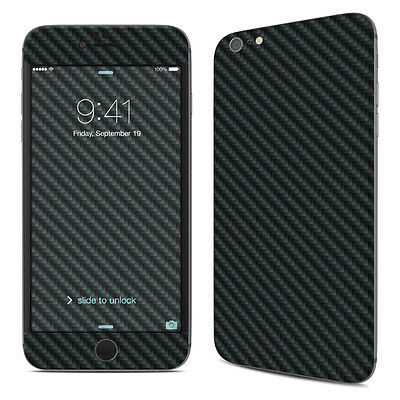 iPhone 6 Plus/6S Plus Skin - Carbon - Sticker Decal
