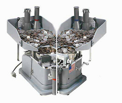 New Klopp KK Combination Electric & Manual Coin Counter, Wrapper & Bagger