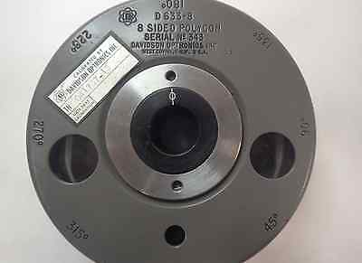 Davidson Optronics D633-8 8 Sided Optical Polygon Great Condition!