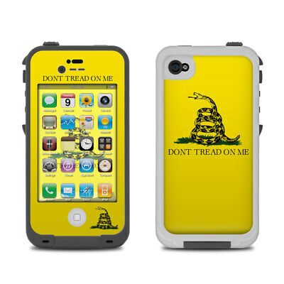 Skin for LifeProof iPhone 4/4S - Gadsden Flag by Flags - Sticker Decal