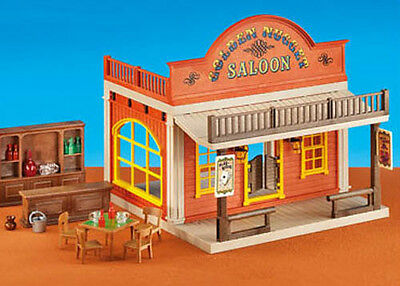 Playmobil Add On #6280 Western Saloon! -New-Factory Sealed