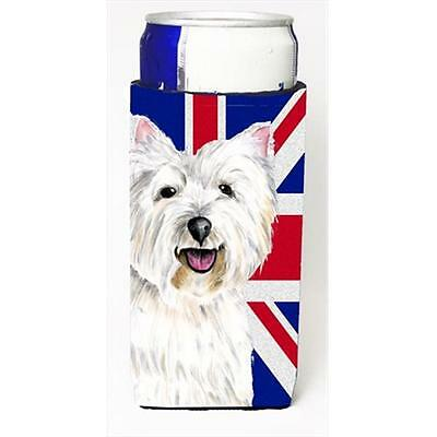 Westie With English Union Jack British Flag Michelob Ultra bottle sleeves For...