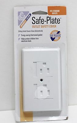 Mommys Helper Safe Plate Electrical Outlet Covers Standard White