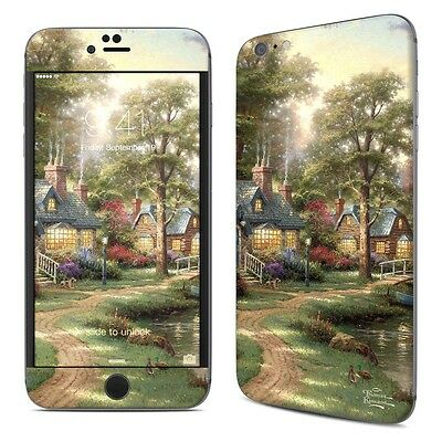 iPhone 6 Plus/6S Plus Skin - Hometown Lake by Thomas Kinkade - Sticker Decal