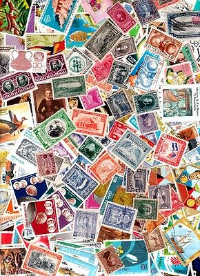 500 CENTRAL AMERICA !! very big lot with many nice - old & new !! all different
