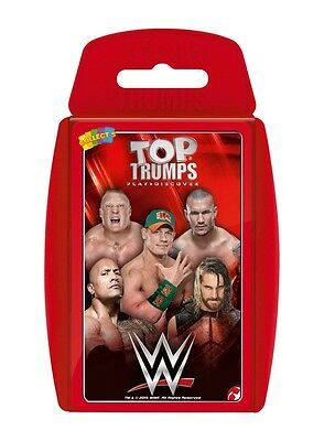 Top Trumps 2016 Wwe World Wrestling Stars Card Game Brand New