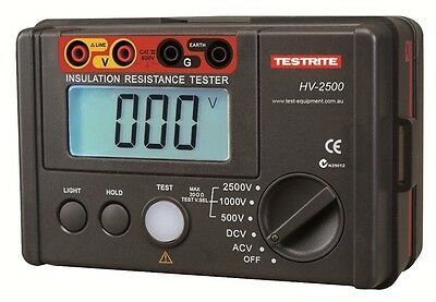 Testrite HV-2500 2.5kV Digital Insulation Tester