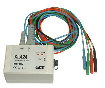 HT Italia XL424 Three Phase Voltage Logger
