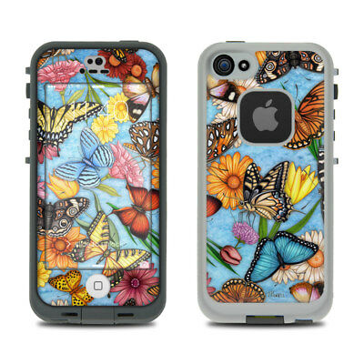 Skin Kit for LifeProof FRE iPhone 5S - Butterfly Land - Sticker Decal