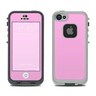 Skin Kit for LifeProof FRE iPhone 5S - Solid Pink - Sticker Decal