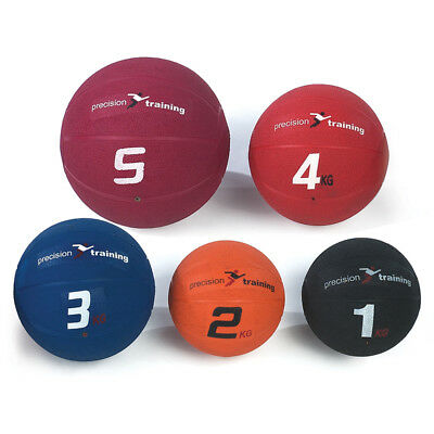 Precision Indoor Outdoor Training Moulded Rubber Medicine Balls rrp£19-32