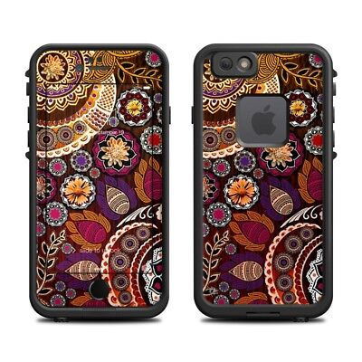 Skin for LifeProof FRE iPhone 6/6S - Autumn Mehndi - Sticker Decal