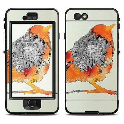 Skin for LifeProof NUUD iPhone 6 - Orange Bird by Iveta Abolina - Sticker Decal