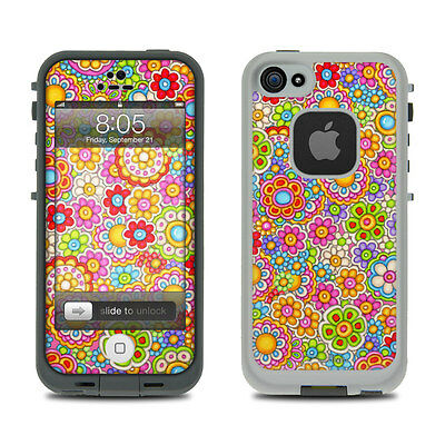 Skin for LifeProof iPhone 5 - Bright Ditzy by Dan Morris - Sticker Decal