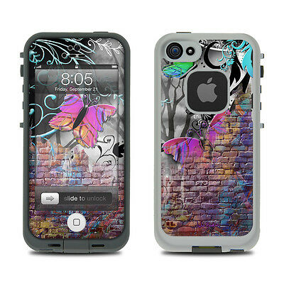 Skin for LifeProof iPhone 5 - Butterfly Wall by Juleez - Sticker Decal
