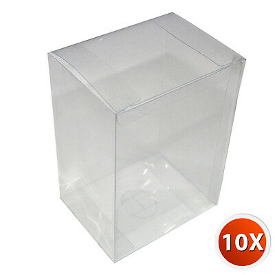 10-Pack [4 inch] Crystal Clear Vinyl Box Case Cover Plastic Film For Funko Pop