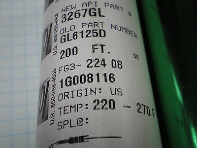 Api Green  Gl6125D Stamp Stamping Foil 200Ft X 4 Inch Roll  1/2 Core