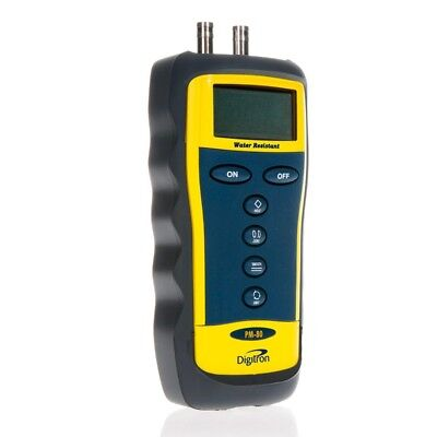 Digitron PM-80 Digital Differential Manometer with Selectable Measurement Units