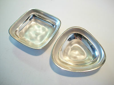 WMF | IKORA - Pair of Siverplate Nut or Candy Dishes - Germany - Circa 1960's