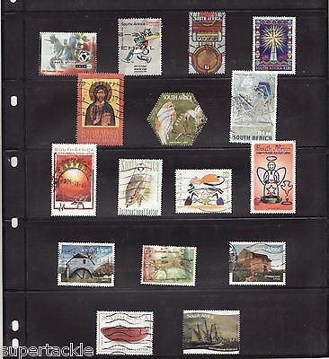 2000 - 2009 South Africa Θ used modern postage stamps cv $23.50