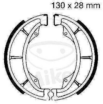 EBC brake shoes brake shoe S602 front rear Kawasaki KE 125 A