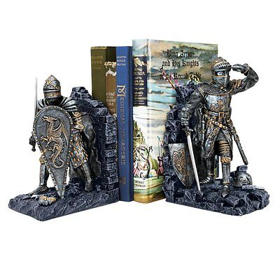 Design Toscano CL3434 Arthurian Knight Bookends