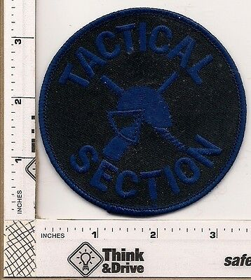 Milwaukee Police Tactical Section.Wisconsin.  Subdued Blue.