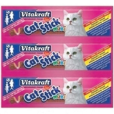 385908 Vitakraft Cat Stick Mini Cod & Tuna 18 g Pack of Three