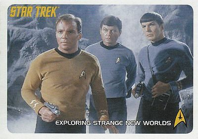 Star Trek TOS 40th Ann. Serie 2 Trading Card Set (110 Cards)