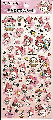 SANRIO MY MELODY NEW YEARS SERIES GOLD FOIL STICKERS 174793