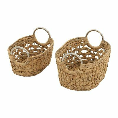 Woodland Imports 49039 Captivating Seagrass Baskets (set of 2)