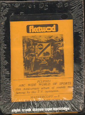 Unopened 8-Track Tape ABC Wide World of Sports 10th Anniversary 1970s SEALED