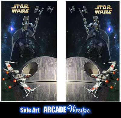 Starwars Arcade Side Art Panel Stickers Graphic / Laminated All Sizes Available