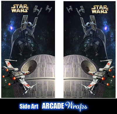 Starwars Arcade Side Artwork Panel Stickers Graphic / Laminated All Sizes