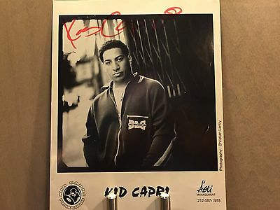 "Original Kid Capri Autographed 8X10"" Picture From 1996"