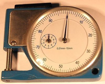 Pocket Dial Thickness Gauge Metric (Ref: SMT101M) From Chronos