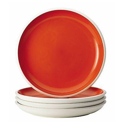 Rachael Ray 58715 587 Dinnerware Rise 4-Piece Stoneware Dinner Plate Set