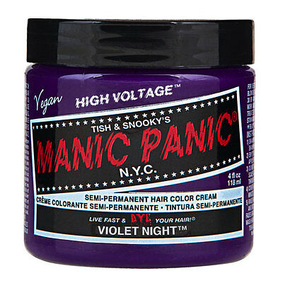 Manic Panic Classic Hair Dye Color Violet Night 118ml Manic-Panic