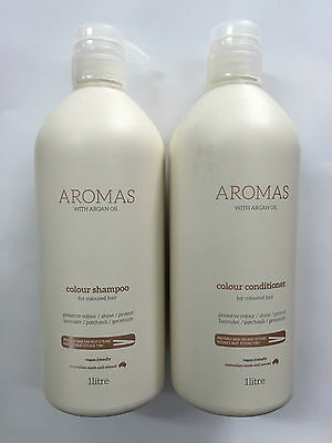 Nak Aromas Colour shampoo and conditioner 1L Duo ( 1000ml) with pumps