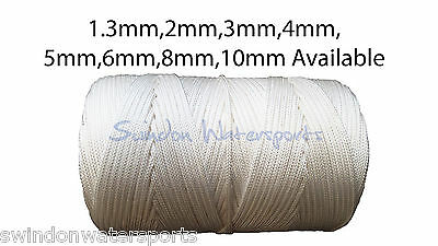 Nylon Rope String Cord Woven Braided 2mm 3mm 4mm 5mm 6mm 8mm