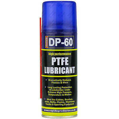 6 x 200ml High Performance PTFE Spray Lubricant Cycle Oil Corrosion Protection