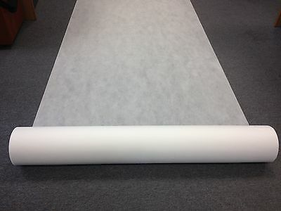 GERMINATION FABRIC, SPUNBOND WHITE GROUND COVER 1m X 100m  WEED CONTROL MATERIAL