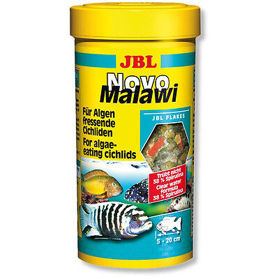 JBL NovoMalawi (Novo Malawi) Flake Fish Food - 250ml @ BARGAIN PRICE!!!